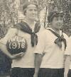 YWCA 1916 girls basketball team small
