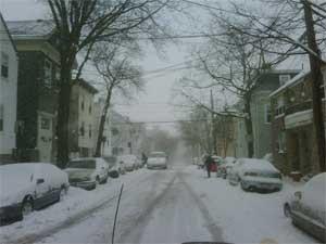 Snow cambridge