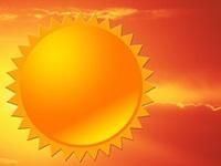 Hot Sun Image